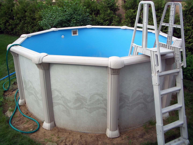 Бассейн для воды на даче своими руками 698